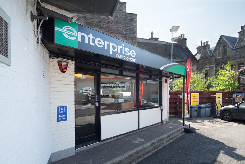 Enterprise Car Rental Wilderhaugh Galashiels