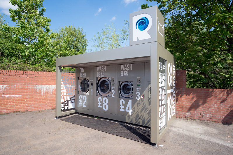 KisWash Revolution Laundry Galashiels