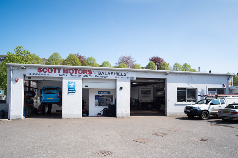 Scott Motors Wilderhaugh Galashiels