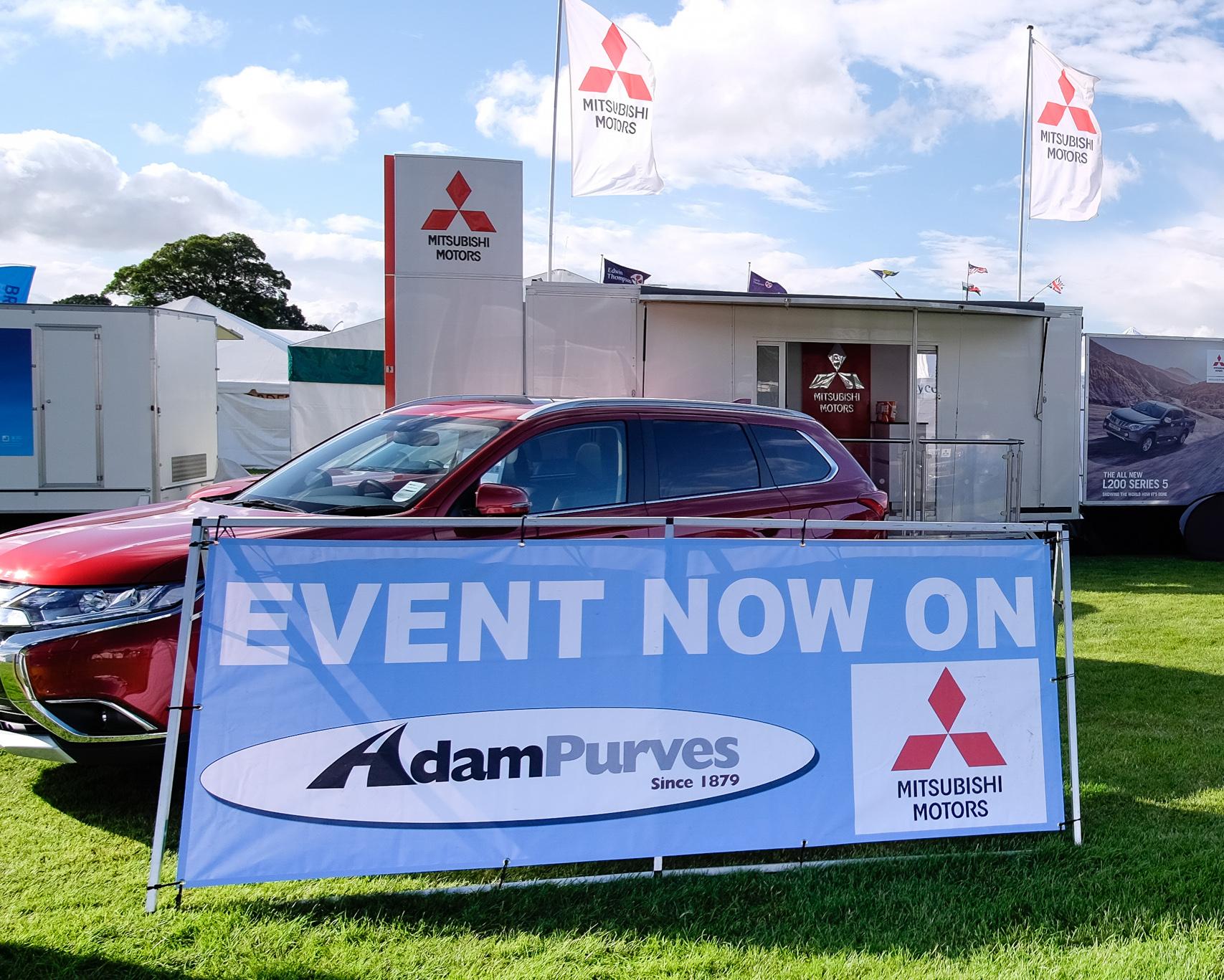 Adam Purves Mitsubishi Border Union Show